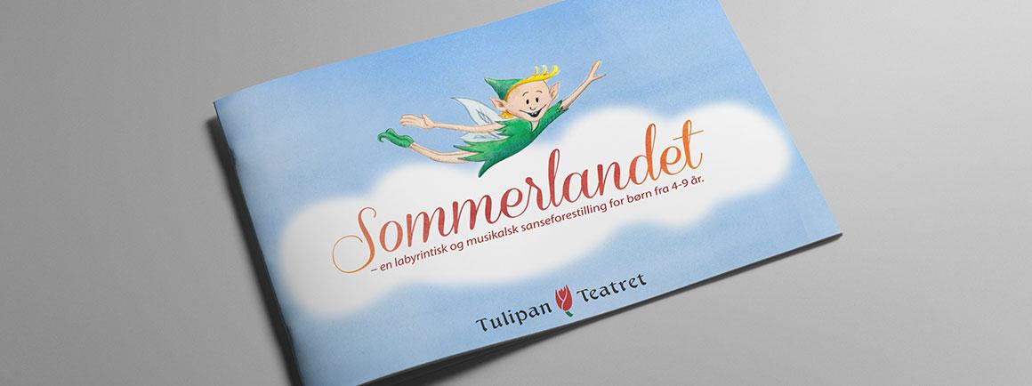 Forside, brochure Tulipan Teateret