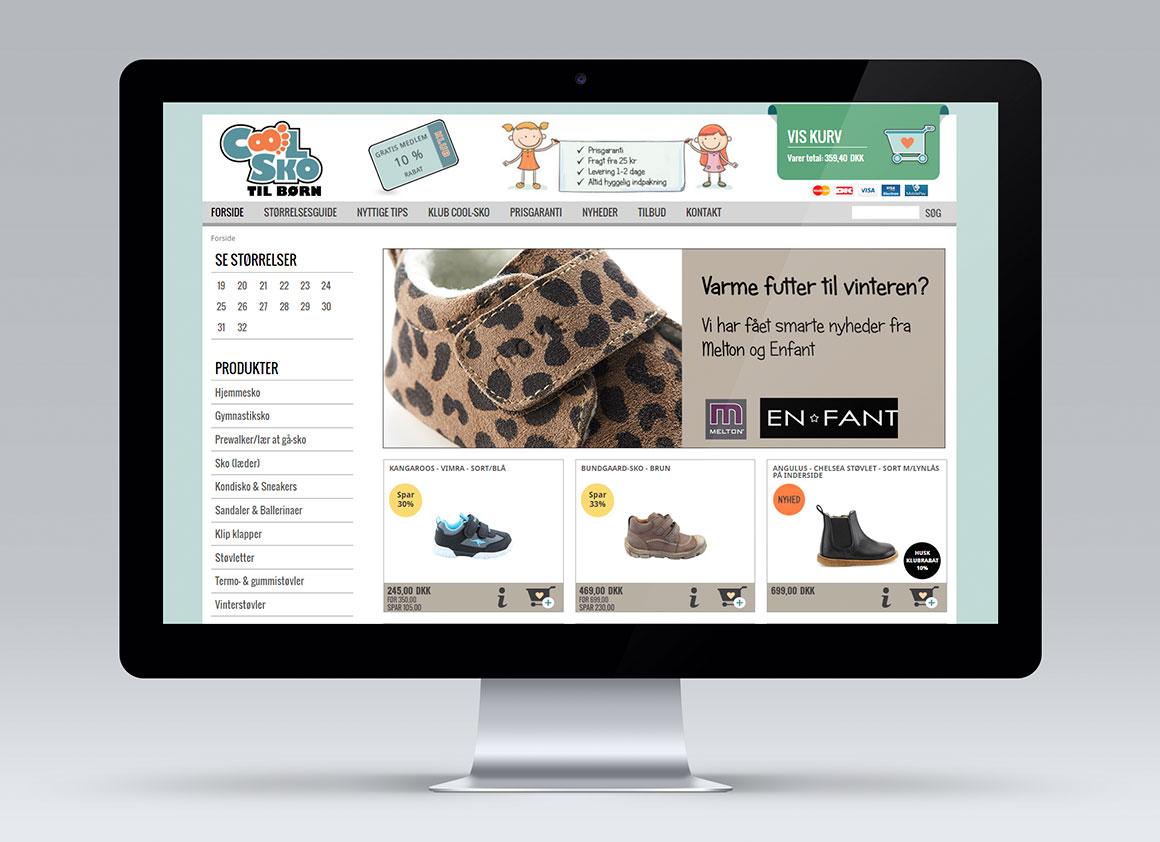 Coolsko webshopdesign