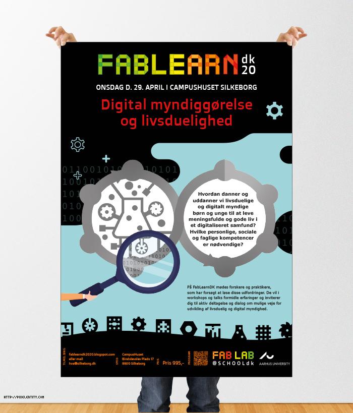 Plakat til Fablearn.dk